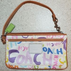Coach Wristlet - Colorful